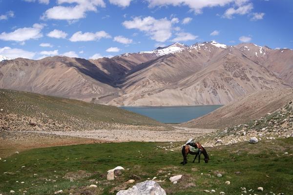 On the Road in Tajikistan