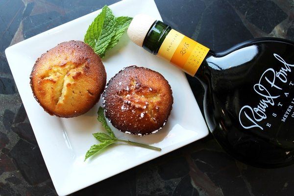 Round Pond's Meyer Lemon Olive Oil Cake. Photo courtesy of Round Pond Estate.