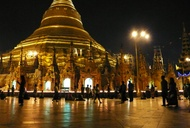 A Night Stroll in Yangon