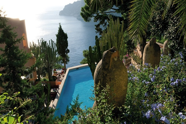 Paradise at Hotel Punta Tragara, Capri