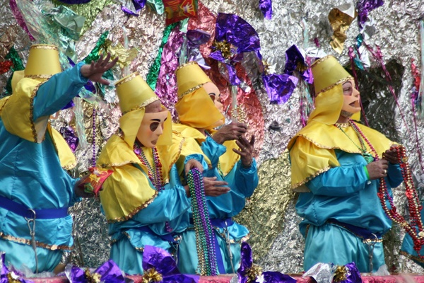 Look, Kids, It's Mardi Gras!