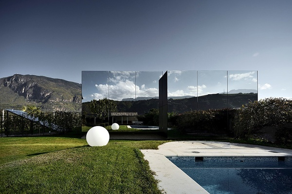 Mirror Houses, South Tyrol, Italy