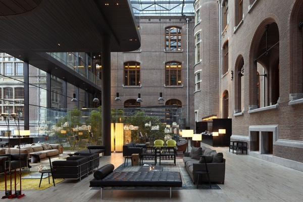I'm Just Obsessed with Amsterdam's Conservatorium Hotel