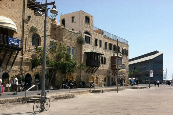 The Old Jaffa Port in Tel Aviv