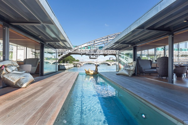 And They're Off! The Hottest New Hotel in Paris Is Floating on the Seine