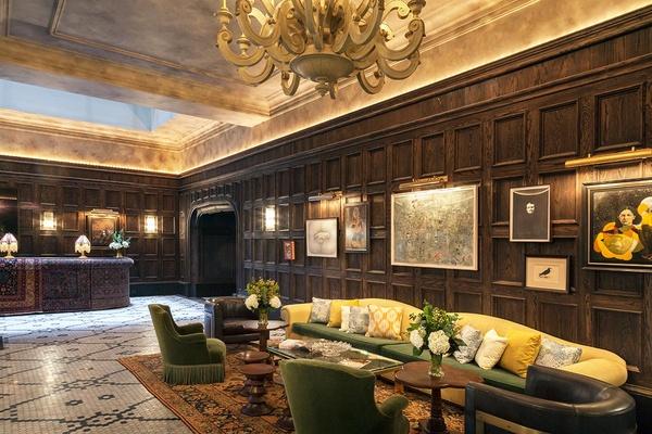 The Beekman Lobby New York City