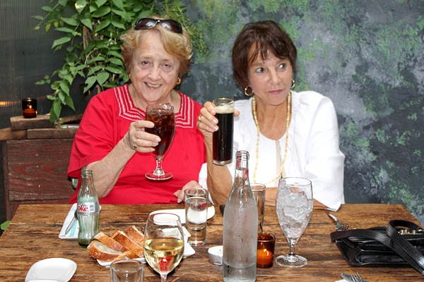 Hi Mom! Two Old Broads in NYC