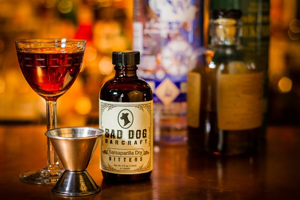 Bad Dog Bar Craft Sarsaparilla Dry Bitters