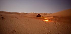 A Grain of Sand in the Empty Quarter