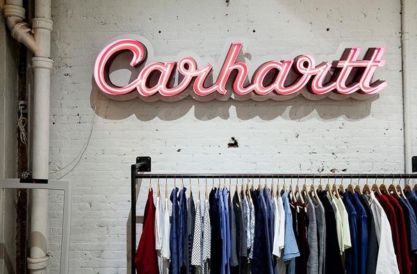 Carhartt in New York City.