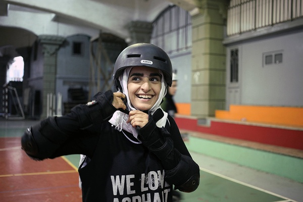 Middle East Roller Derby, Tamara Abdul Hadi