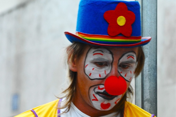 Beware the Failed Clown Who Wants to Be Your Friend