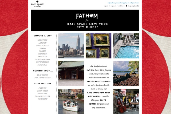NEW! Fathom for Kate Spade New York Guides