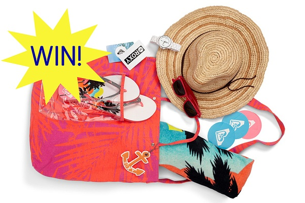 WIN! Roxy's Spring Break Essentials