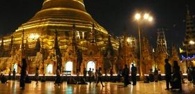 A Night Stroll in Yangon