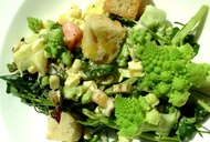 Color, Crunch, and Calcium: A Recipe for Rabe and Romanesco Salad