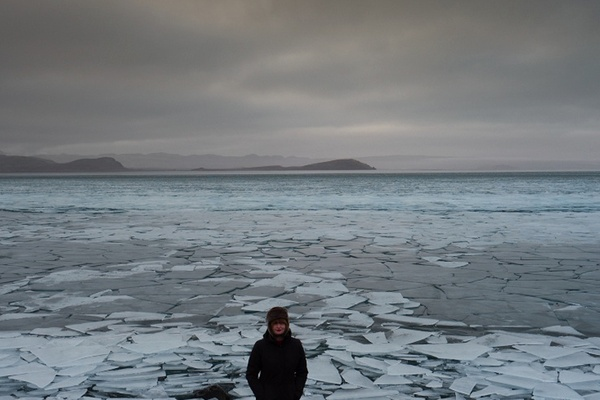 Julia in Iceland