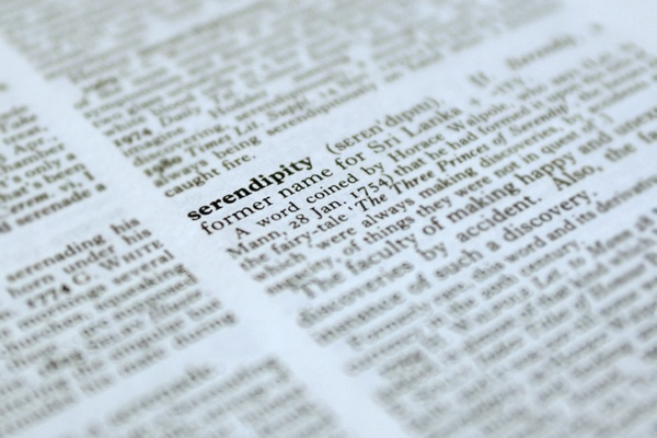 What's in a Word? Serendipity