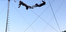 I'm the Daring Young Girl on the Flying Trapeze