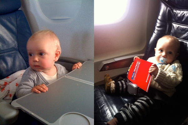 Now Boarding: 10 Tips for Flying with Babies