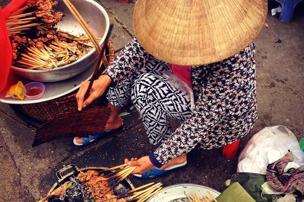 Thit Nuong Vietnam Street Food