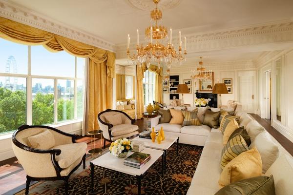 Savoy Royal Suite living room