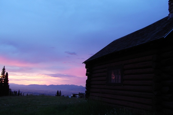 Darkness Falls in Montana
