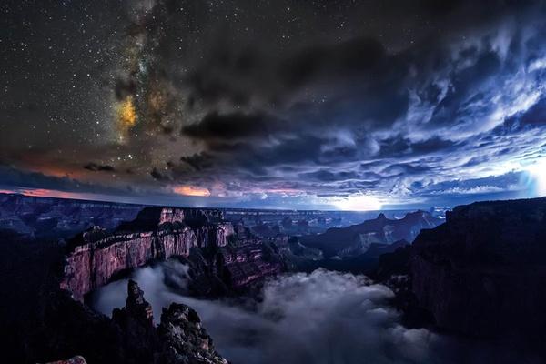 Grand Canyon, SKYGLOW, Harun Mehmedinović