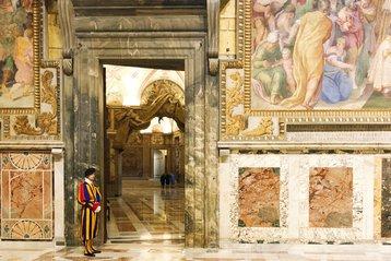 Sistine Chapel, Vatican City.