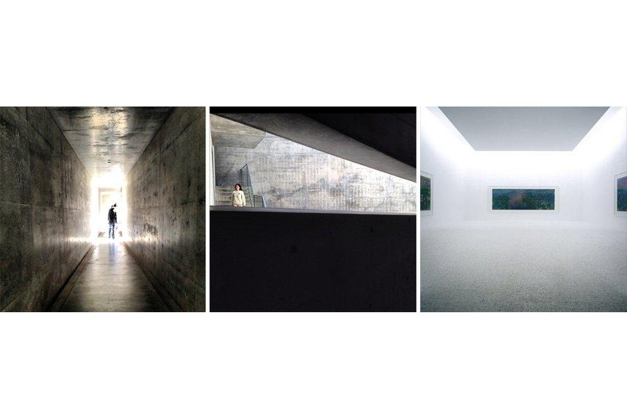 Inside the Chichu Art Museum