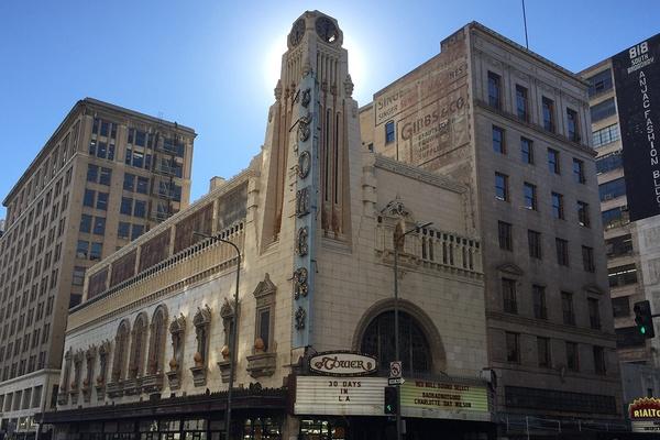 Downtown LA Historic Core Architecture