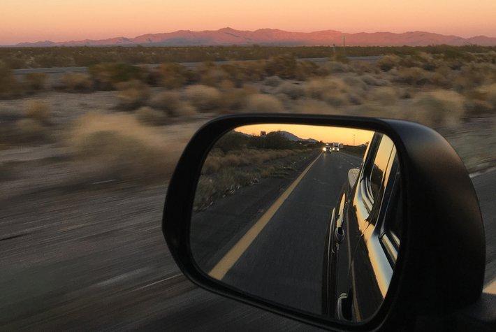 Kathleen Whitaker road trip