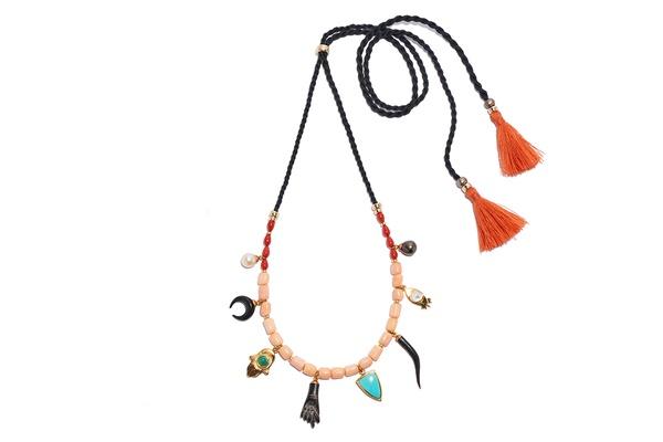 Lizzie Fortunato Cuba Libre Charm Necklace