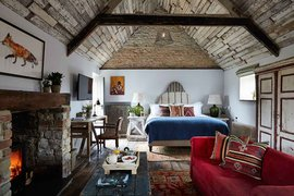 Stable Suite at Artists Residence Oxfordshire in England.