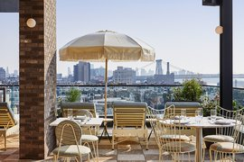 The view from Summerly, a bar and restaurant at The Hoxton, Williamsburg. All photos courtesy of The Hoxton.