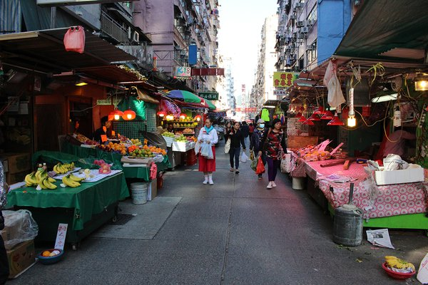 Mongkok Local Market - Hong Kong