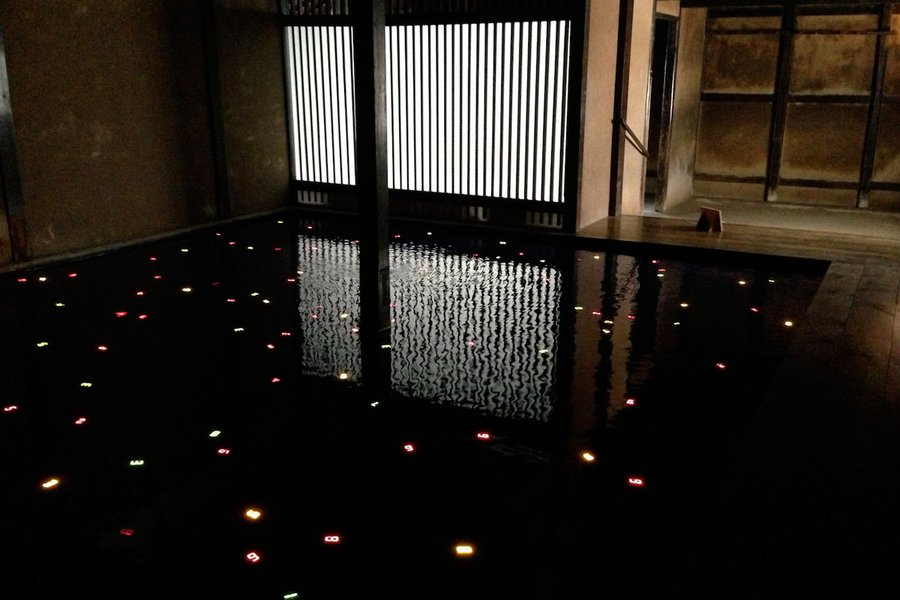 """Sea of Time"" by Tatsuo Miyajima"