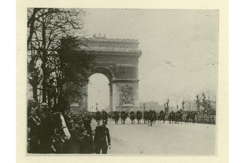 "Arc de Triomphe, Paris. Photo: <a title=""Woodrow Wilson Presidential Library Archives"" href=""http://www.flickr.com/photos/wwplarchives/5425324816/""target=_blank"">Woodrow Wilson Presidential Library Archives</a> / Flickr"