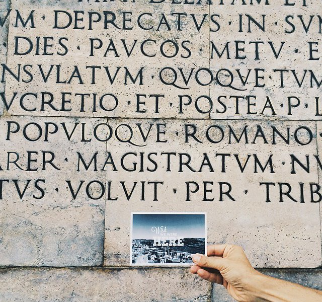 Ancient Typography