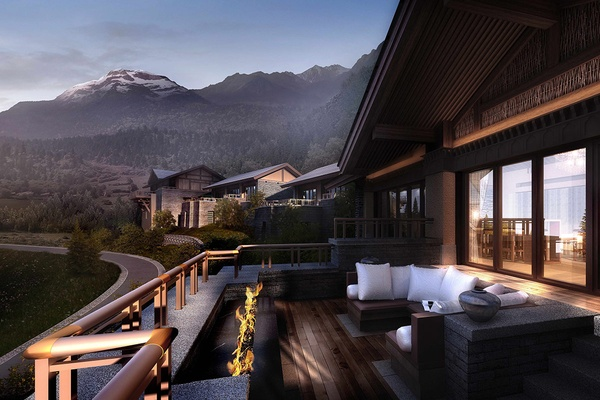 The Ritz-Carlton, Jiuzhaigou, China