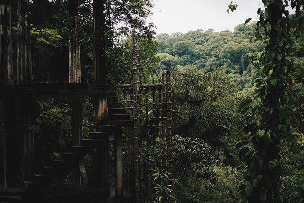 Surrealist Garden in Sierra Gorda Mountains