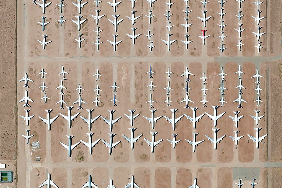 Victorville Airplane Boneyard