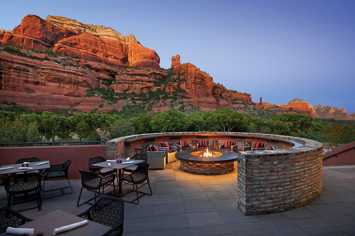 Tii Gavo Patio at Enchantment Resort - Sedona, Arizona