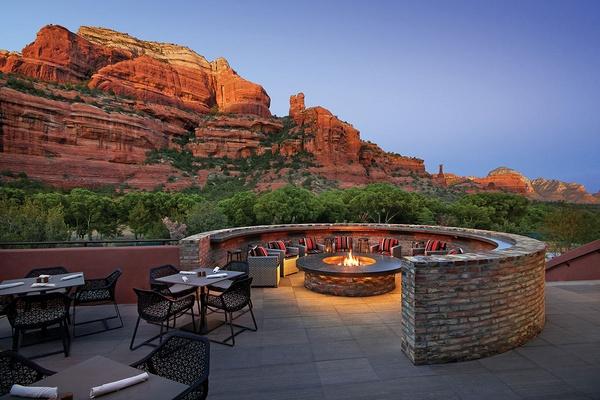 Tii Gavo Patio at Enchantment Resort - Sedona, Arizona