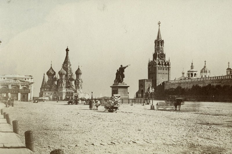 "The Red Square, Moscow, 1900. Photo: <a title=""Swedish National Heritage Board"" href=""http://www.flickr.com/photos/swedish_heritage_board/4600822737"" target=""_blank"">Swedish National Heritage Board</a> / Flickr"