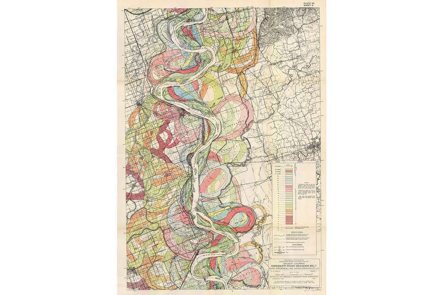 Ancient Courses Mississippi River Meander Belt