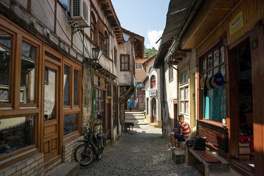 Street scene in Kratovo.