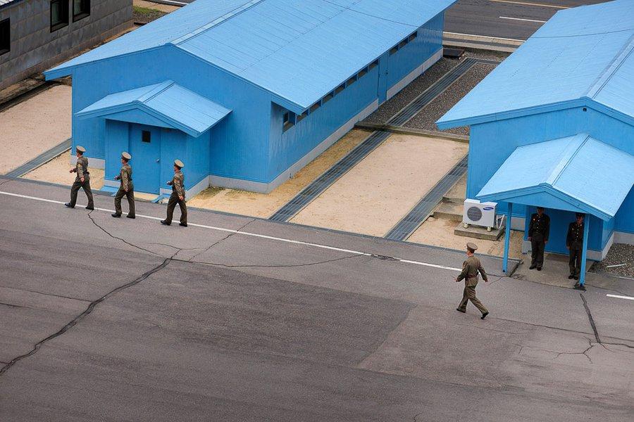 At the DMZ