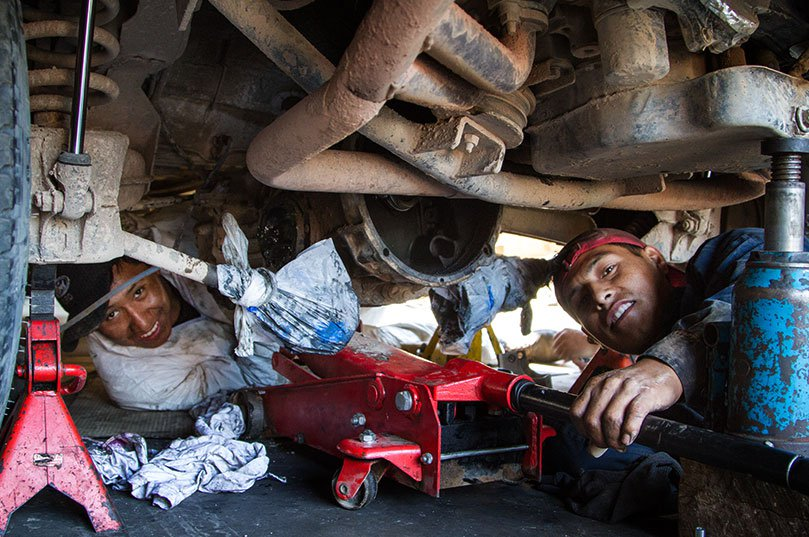 Trusty Mechanics
