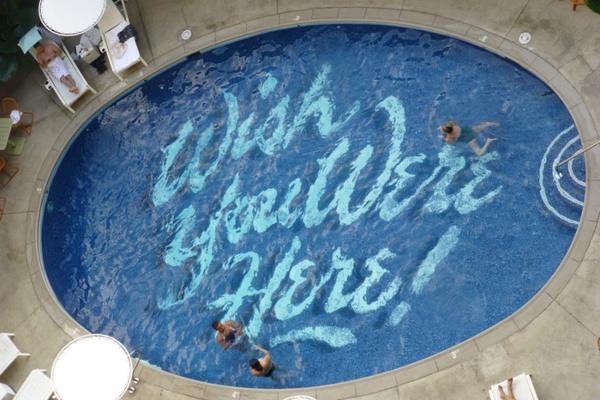 Surfjack Hotel pool, Hawaii